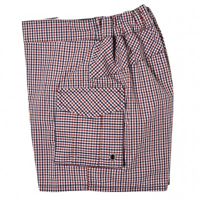 Plaid Swim Trunks Sam