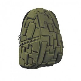 Madpax School Bag -Block Green - Full Pack