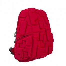 Madpax School Bag -Block Red - Full Pack