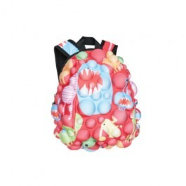 Small Back Pack Madpax- Monsters Red - Pint