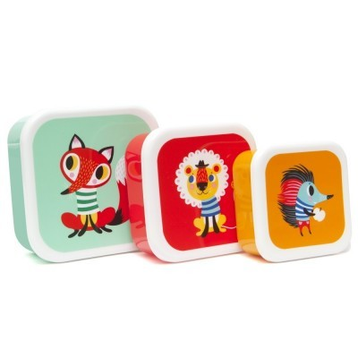 Lunch Box Animals - Set of 3