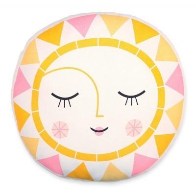 Στρογγυλό μαξιλάρι - Ήλιος