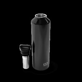 Ισοθερμικό μπουκάλι με infuser- Steel Onyx