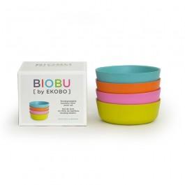 Set of 4 Bambino Bowl - Set 1 Pastel