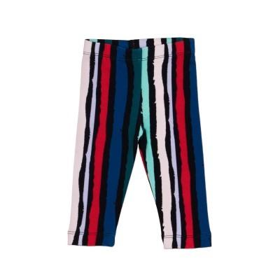 Multi striped Print Leggings