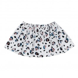 Roller Skirt - Snow Leopard