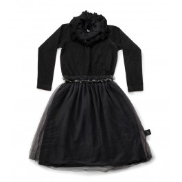 Victorian Tulle Dress Black