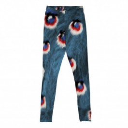 Organic Leggings Peacock Fur