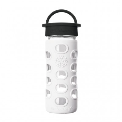 Glass Bottle with Straw Cap - 320ml