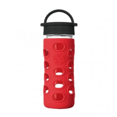 Glass Bottle Classic Cap Apple Red  - 350ml