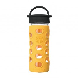 Glass Bottle Classic Cap Marigold  - 350ml
