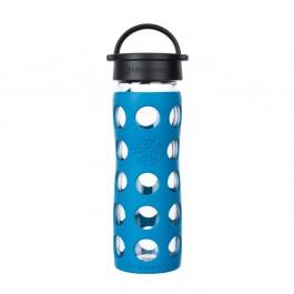 Glass Bottle Classic Cap Teal Lake - 475ml