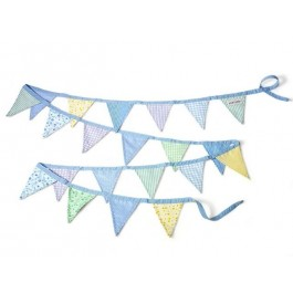 Bunting in Blue colors