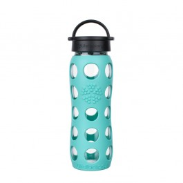 Glass Bottle Classic Cap Sea Green - 650ml