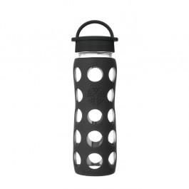 Glass Bottle Classic Cap Onyx - 650ml