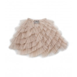 Layered Skirt Hazelnut
