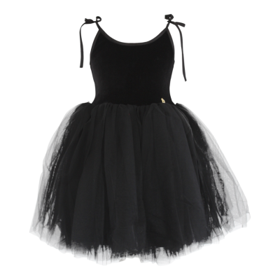 7e09e23ec1f81 Velvet Tutu Ballet Dress Sabrina - Black - Alice on board