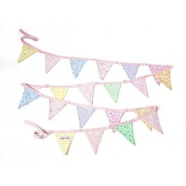 Bunting in Pink colors
