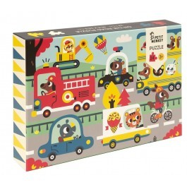 Puzzle On the Road - 24pcs