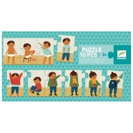 Puzzle - Ντύνω το παιδάκι