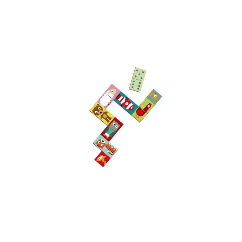 f79d2fdbd27 Domino Animals by Djeco · Domino Animals by Djeco