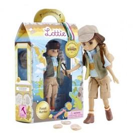 Κούκλα Lottie Βινυλίου - Εξερευνήτρια Απολιθωμάτων