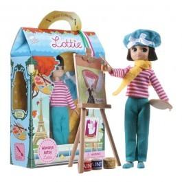 Κούκλα Lottie Βινυλίου - Ζωγράφος Artsy