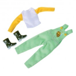 Outfit Μελισσοκόμος για την κούκλα Lottie