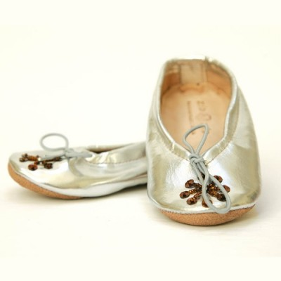 Μπαλαρίνες Babush-Silver