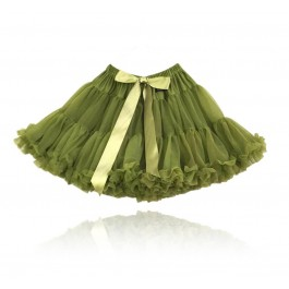 Pettiskirt Spanish Queen Olive