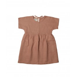 Luna Dress - Caramel