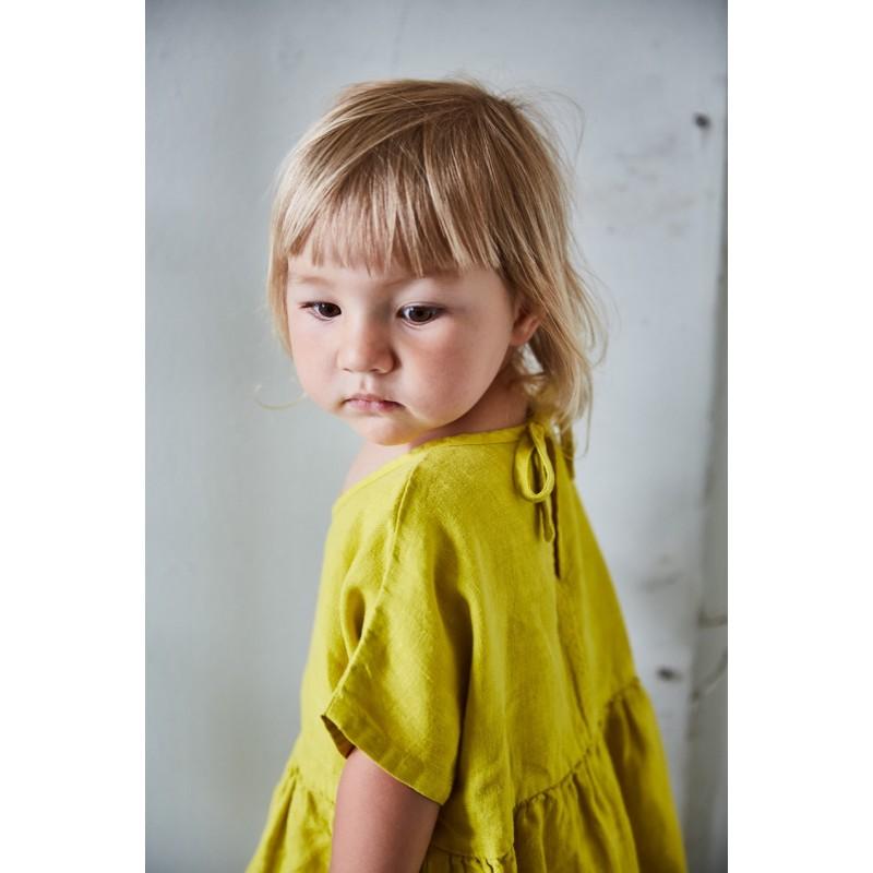bc6de0a93b7 ... Linen Eden Dress - Caramel ...