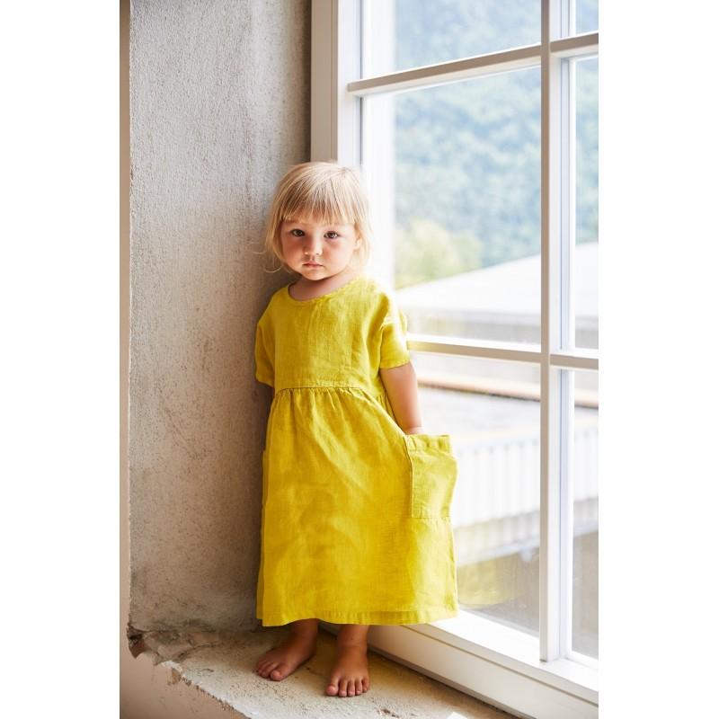 29a523cd9df ... Linen Eden Dress - Caramel