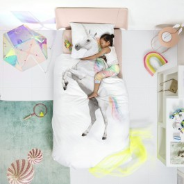 Set duvet cover Unicorn