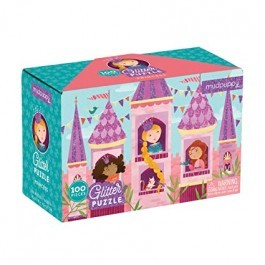 Puzzle Glitter 100pcs - Princess
