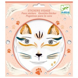Face stickers - Cat