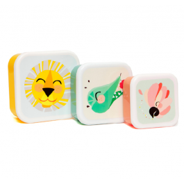 Lunch Box Shiny Lion - Set of 3