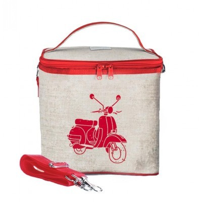 Large Cooler Bag- Red Vespa