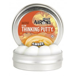 Mini Thinking Putty - Amber Glow