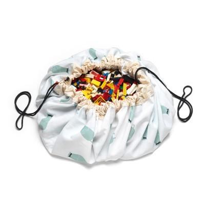 Τσάντα αποθήκευσης παιχνιδιών 2 σε 1- Trainmap and Bears