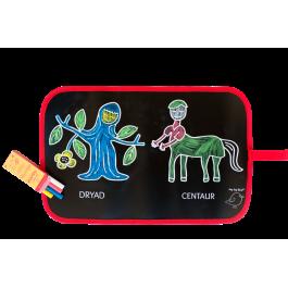 Doodle Chalk Mat - Mythology