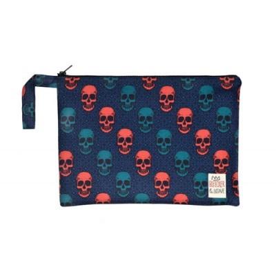Waterproof Bag Woven - Skulls