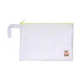 Waterproof Bag Woven - White Stars