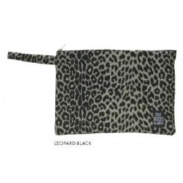 Waterproof Bag Woven - Leopard Black