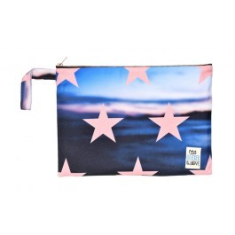 Waterproof Bag Woven - Stars Sunrise