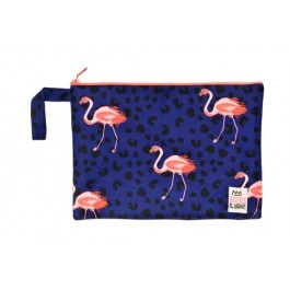 Waterproof Bag Woven - Flamingos