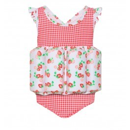 Baby Girls Float Suit Strawberry - SUNUVA