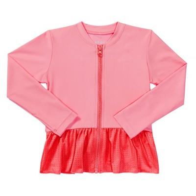 Παιδικό αντιηλιακό μπλουζάκι- Seafolly Zip Front Rashie