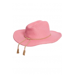 Mini Packable Coyote Sun Hat - Natural