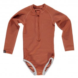 Earth Ribbed Rash Guard